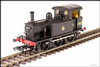 Hattons H4-P-007 SECR P Class 0-6-0T 31027 in BR black with early emblem